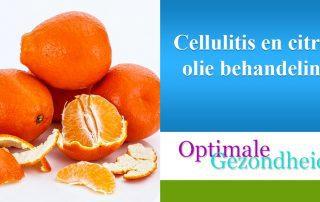 cellulite en citrus olie