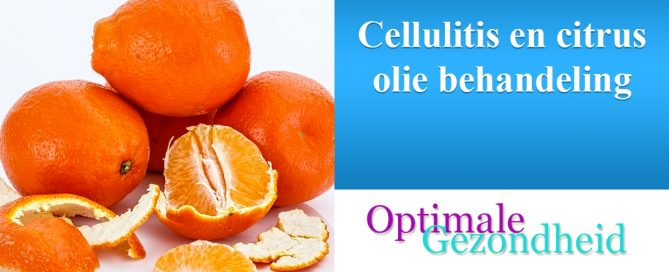 cellulite en citrus olie