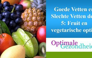 fruit en vegetarische opties