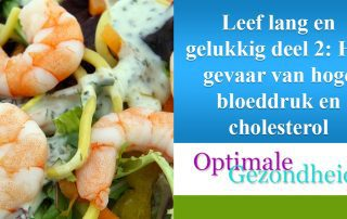 cholesterol en hoge bloeddruk