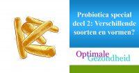 verschillende soorten probiotica