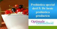probiotica producten