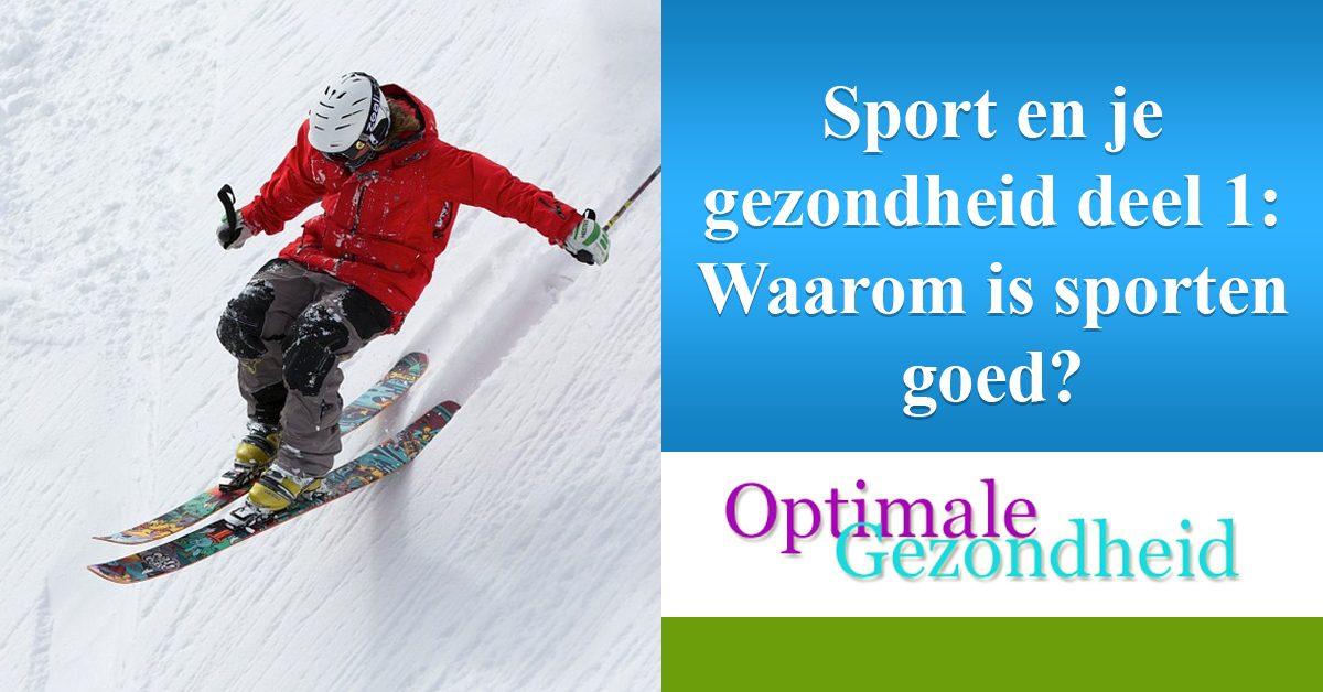sport en je gezondheid