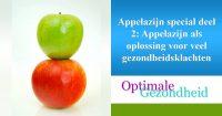 appelcider azijn tegen gezondheidsklachten