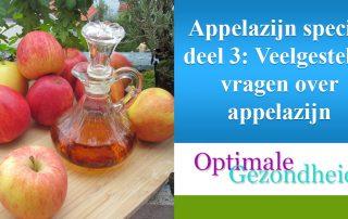 faq over appelcider azijn