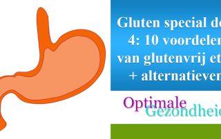 voordelen van glutenvrij eten