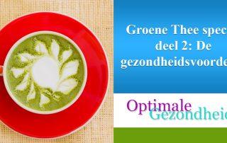 groene thee gezondheidheidsvoordelen