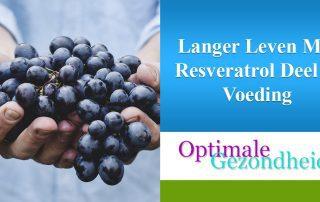 Resveratrol en voeding
