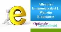 E-nummers