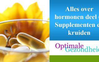 hormonen en supplementen