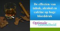 hoge bloeddruk en roken en tabak