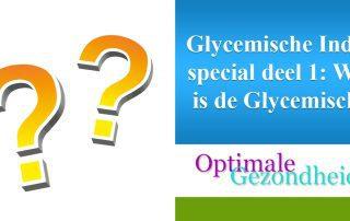 Wat is de Glycemische index