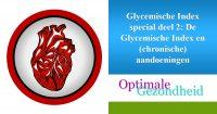 De Glycemische index en aandoeningen