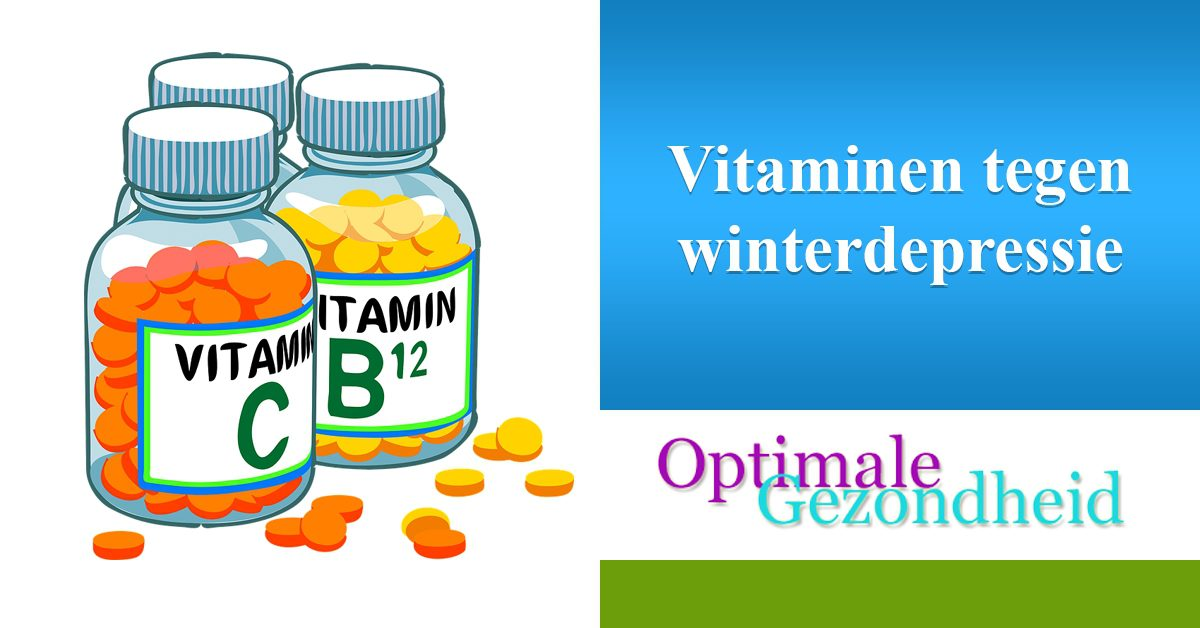 vitamines en winterdepressie