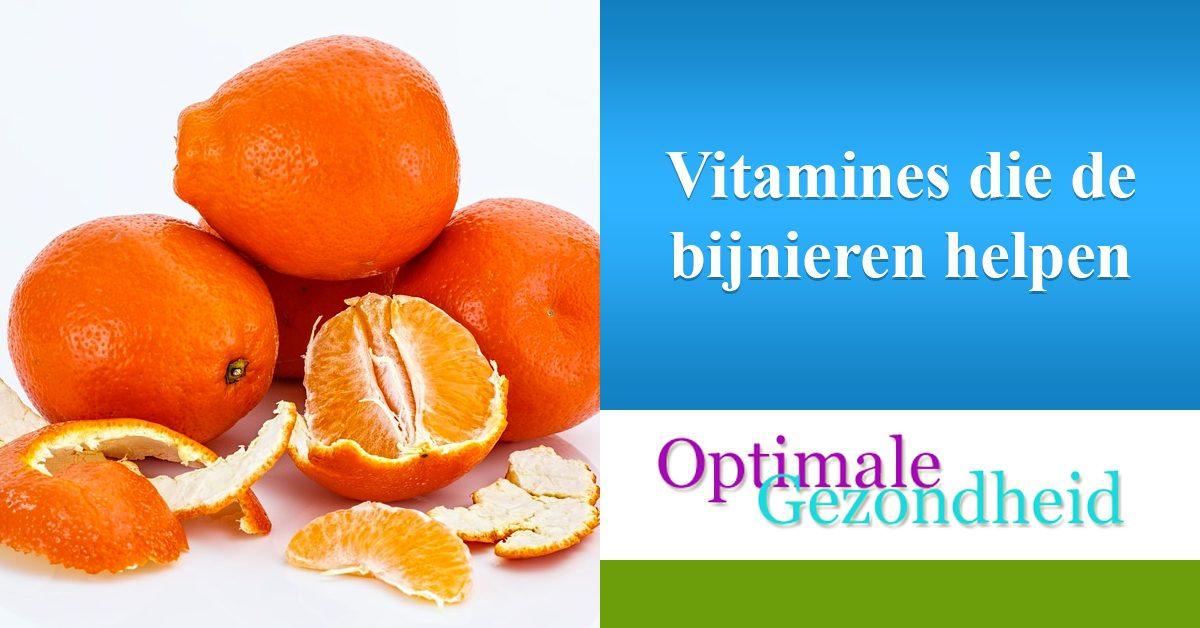 vitamines en bijnieren