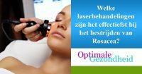 laserbehandeling en rosacea