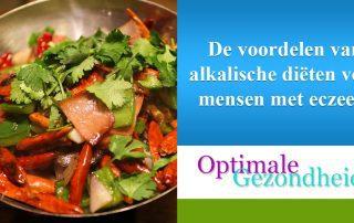 alkalisch eten en eczeem