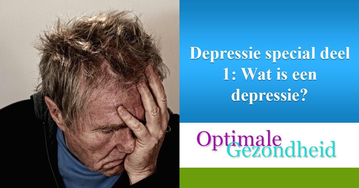 wat is een depressie