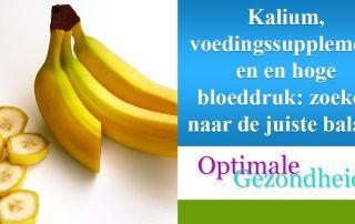 kalium als voedingssupplement