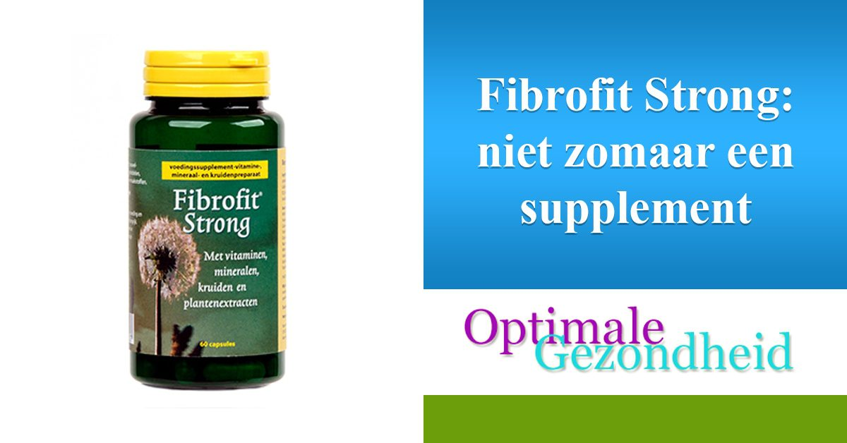 Fibrofit strong supplement
