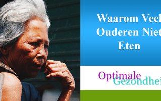 waarom eten ouderen niet veel