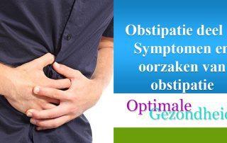 symptomen en oorzaken obstipatie