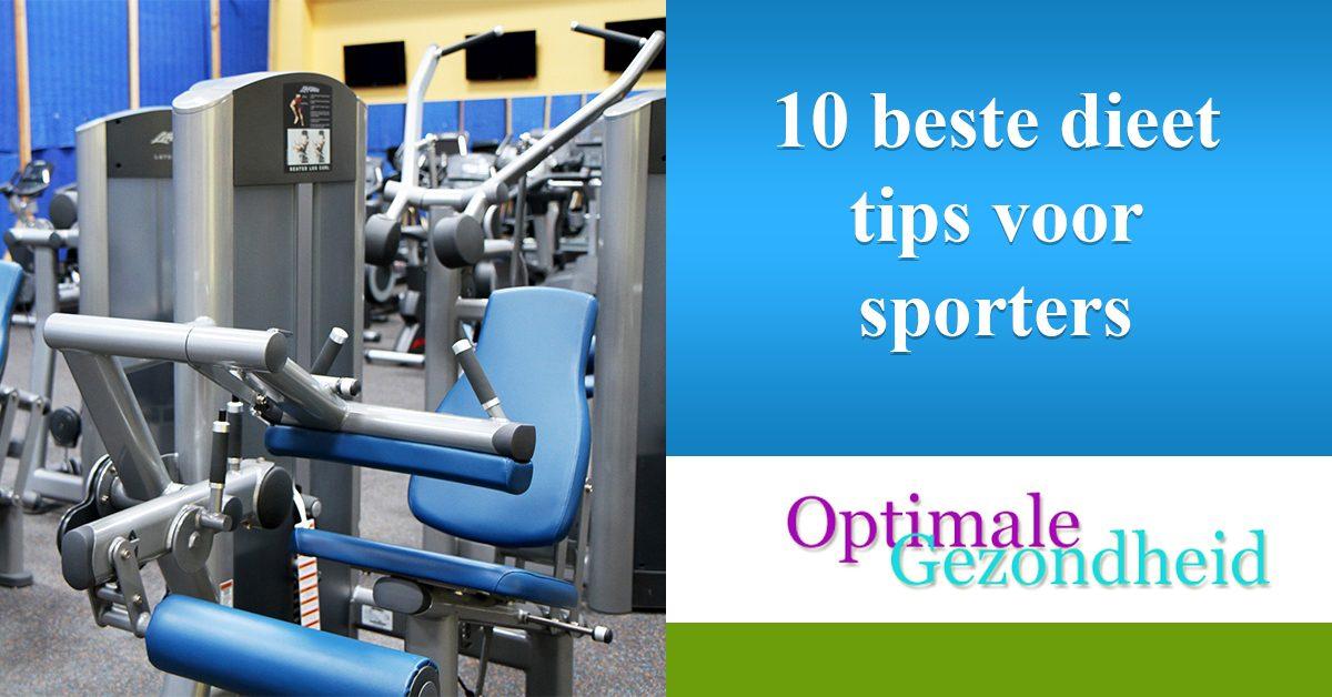 10 tips voeding en sporters