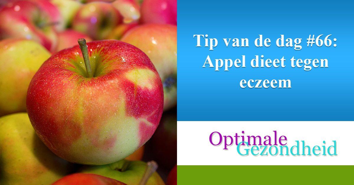 appels tegen eczeem