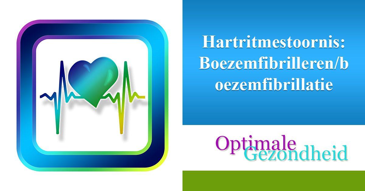 hartritmestoornis Boezemfibrillerenboezemfibrillatie
