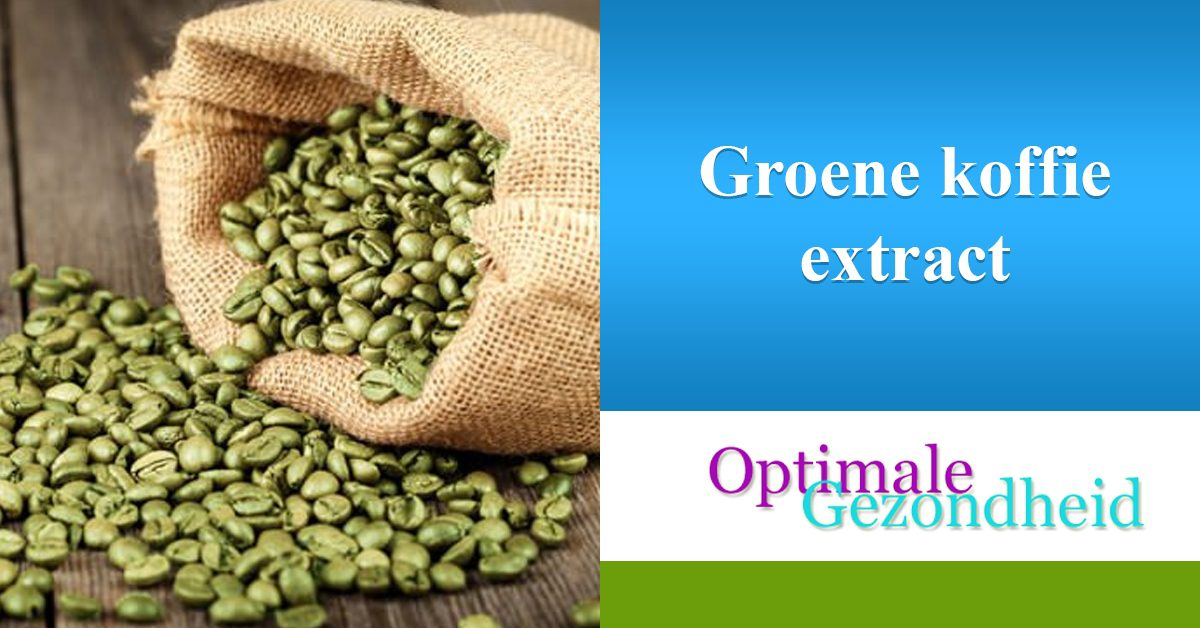 Spiksplinternieuw De gezondheidsvoordelen van groene koffie JW-89