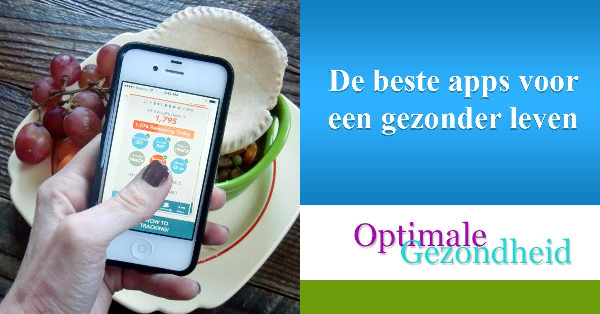 De beste apps voor een gezonder leven