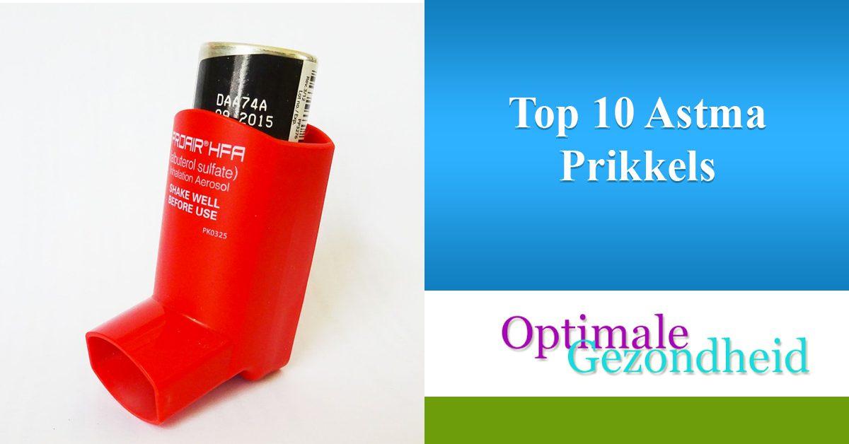 Top 10 Astma Prikkels