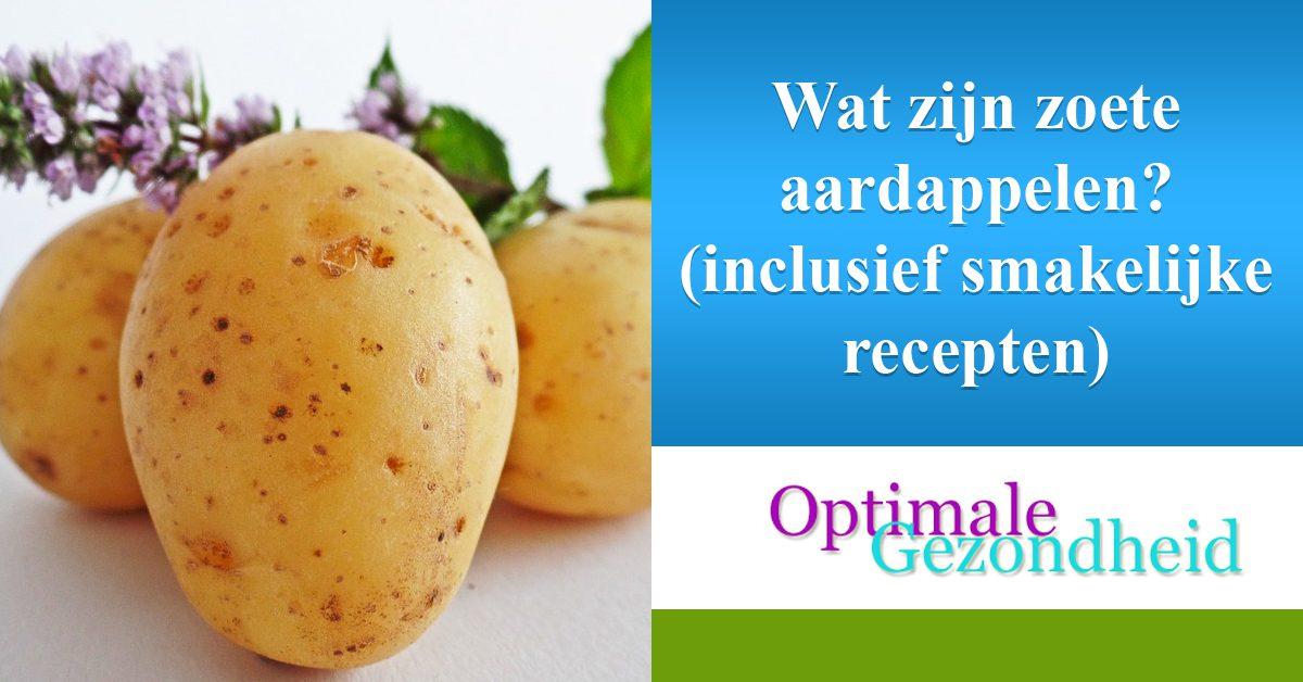 Wat zijn zoete aardappelen (inclusief smakelijke recepten)
