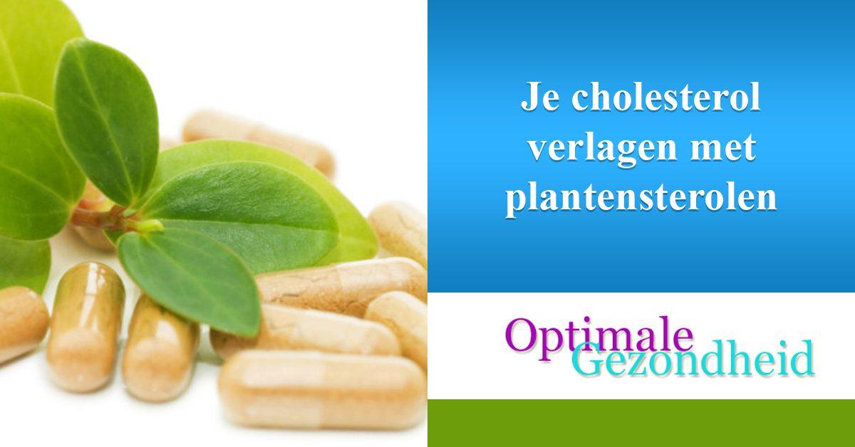 Je cholesterol verlagen met plantensterolen