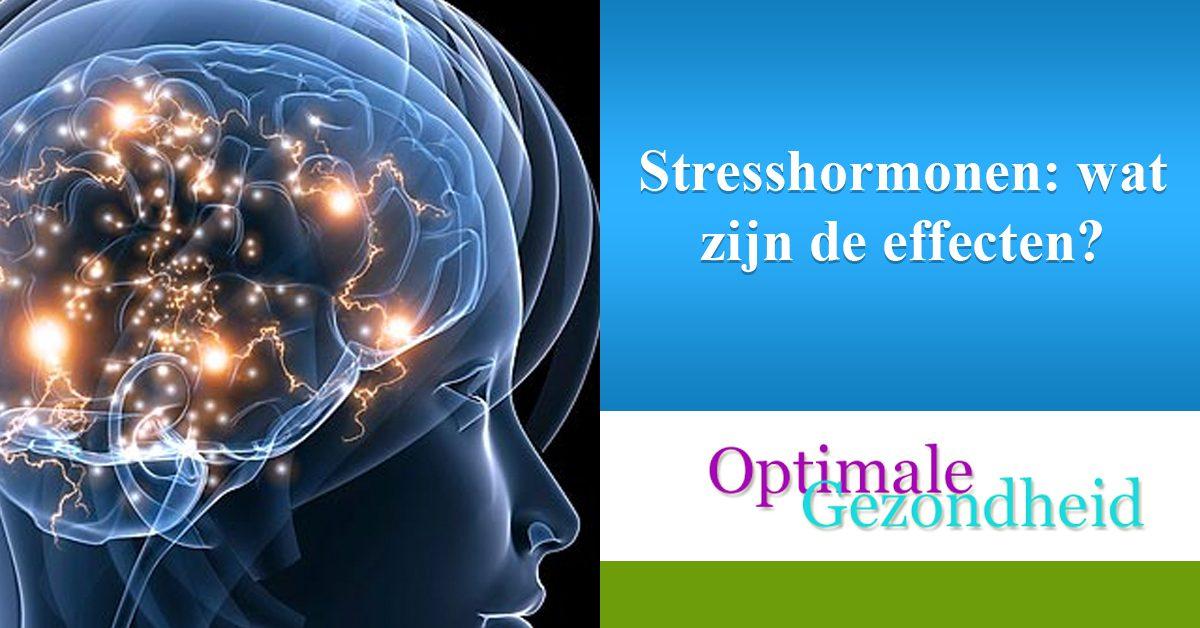 Stresshormonen wat zijn de effecten