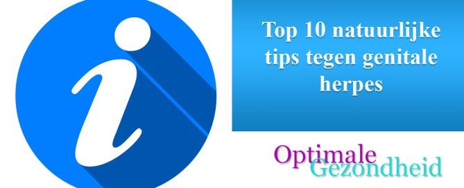 Top 10 natuurlijke tips tegen genitale herpes