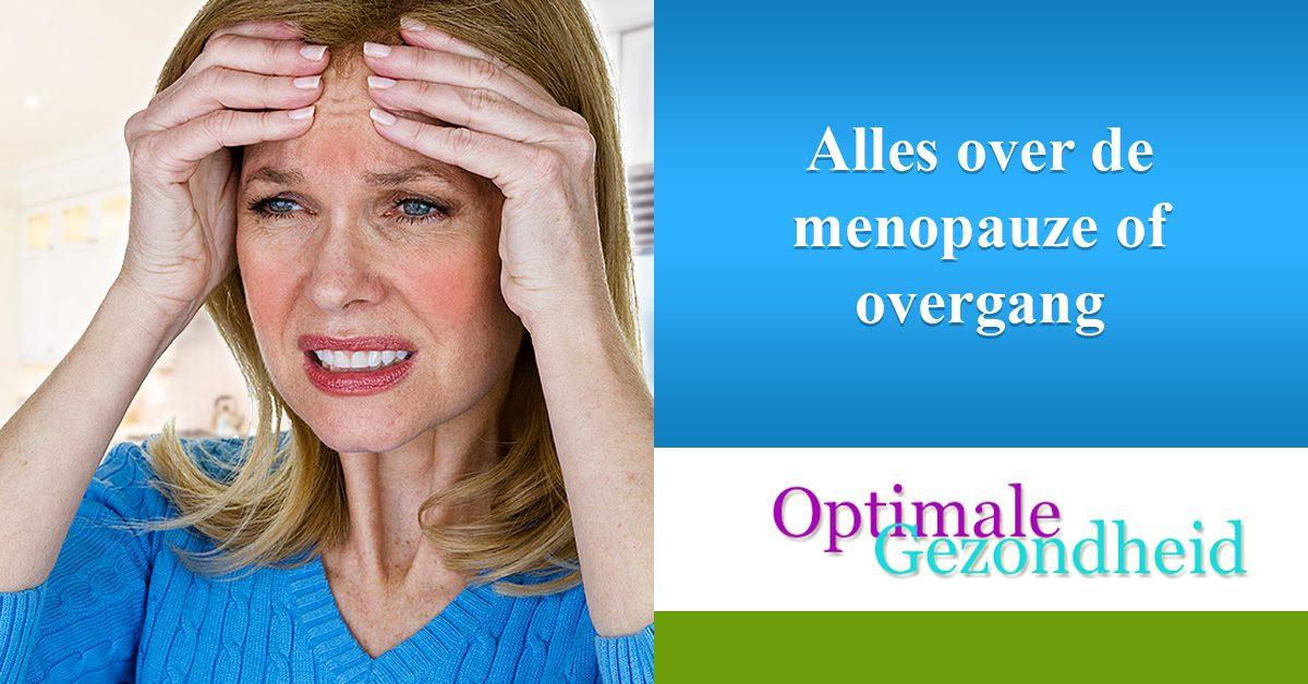 Alles over de menopauze of overgang