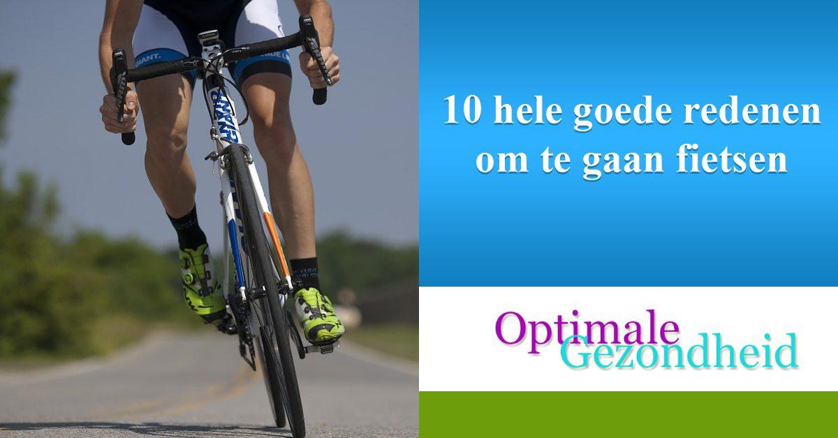 10 hele goede redenen om te gaan fietsen