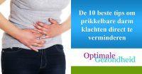 De 10 beste tips om prikkelbare darm klachten direct te verminderen