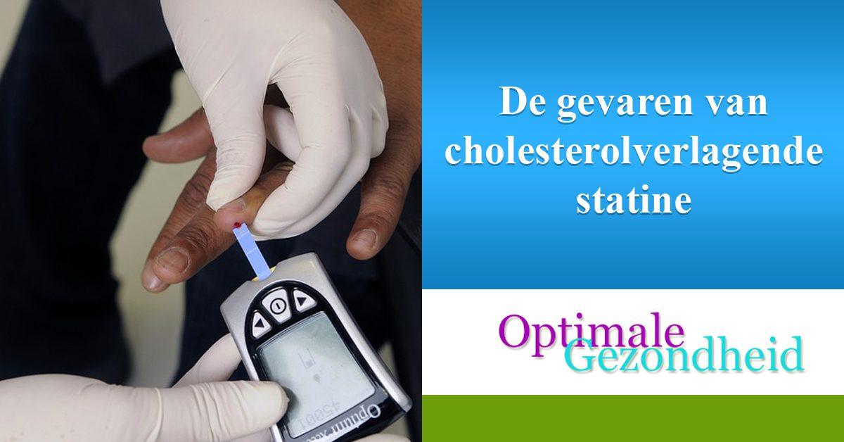 De gevaren van cholesterolverlagende statine