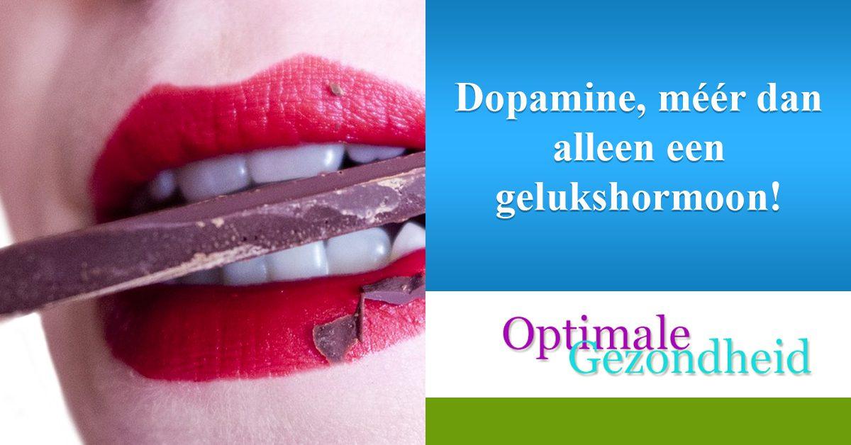 Dopamine, méér dan alleen een gelukshormoon!