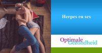 Herpes en sex