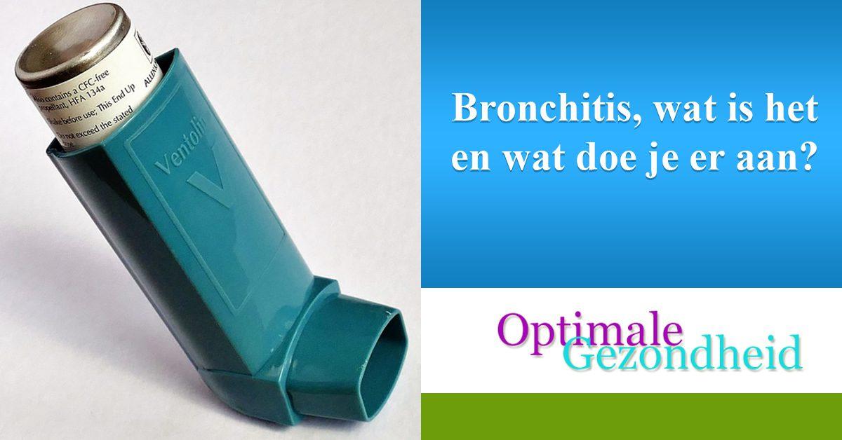 Bronchitis, wat is het en wat doe je er aan