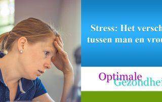 Stress Het verschil tussen man en vrouw
