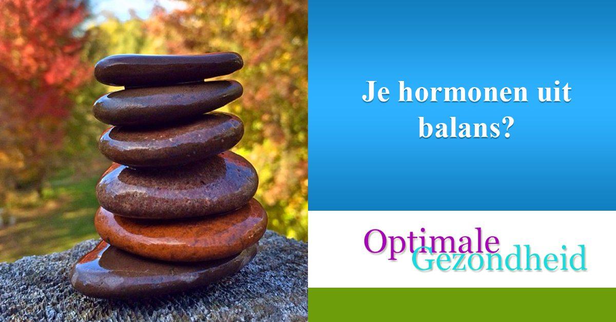 Je hormonen uit balans