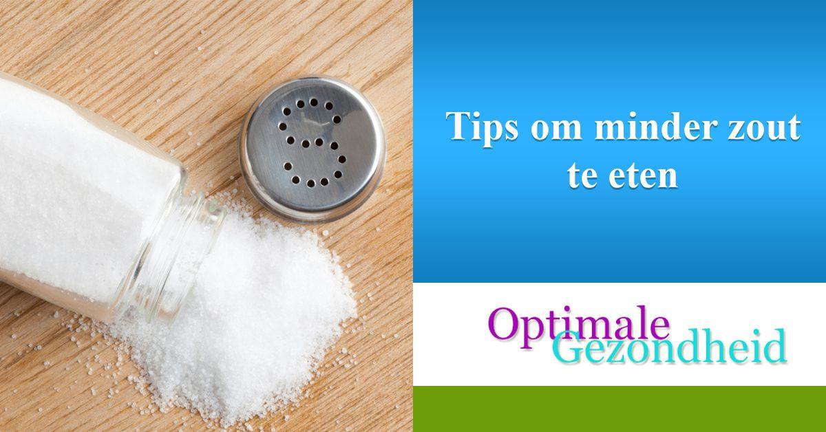 Tips om minder zout te eten