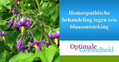 Homeopathische behandeling tegen een blaasontsteking