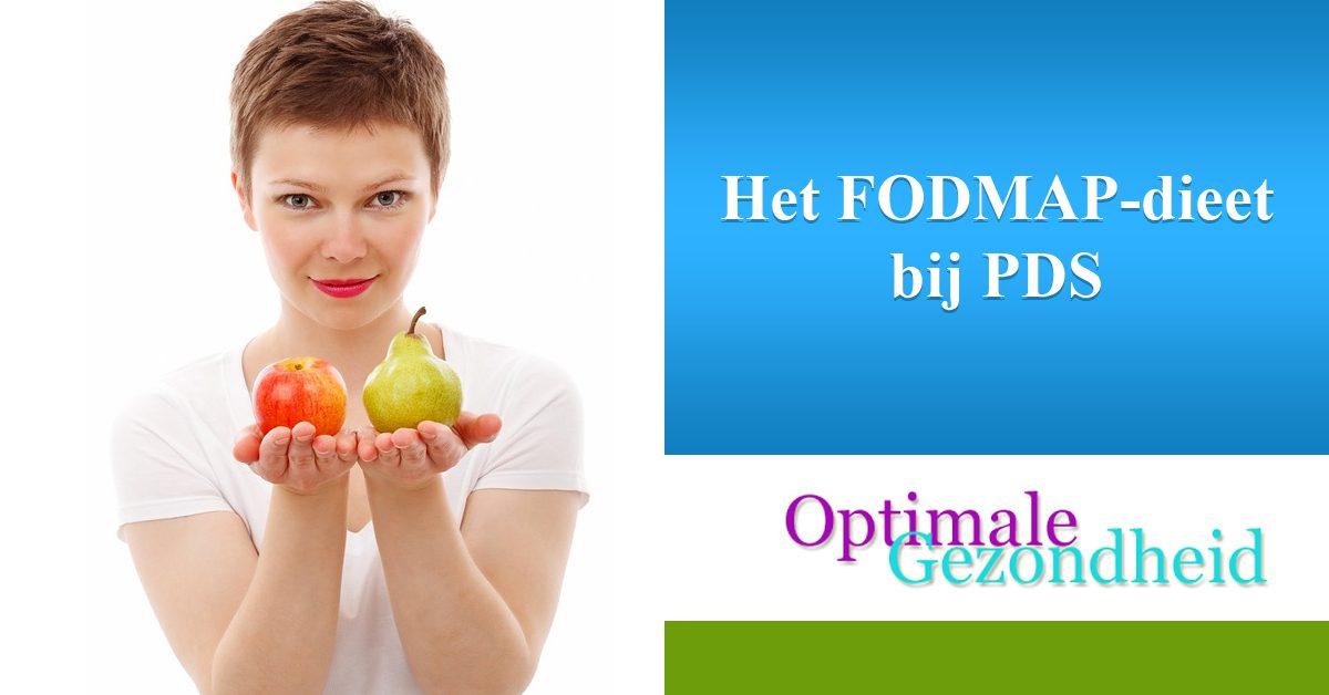 Het FODMAP-dieet bij PDS
