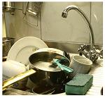 vieze keuken