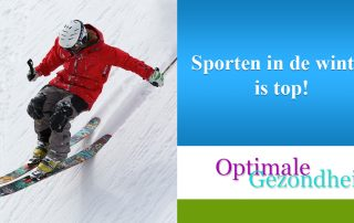 Sporten in de winter is top!